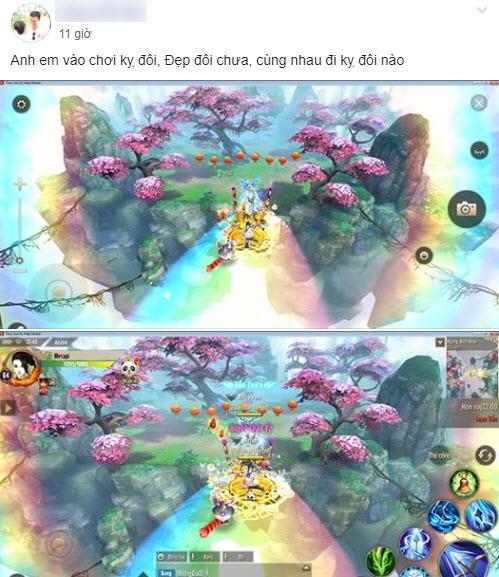 Update một cái, 500 anh em game thủ Thục Sơn Kỳ Hiệp Mobile đồng loạt khoe ảnh đèo gái max phê - Ảnh 9.