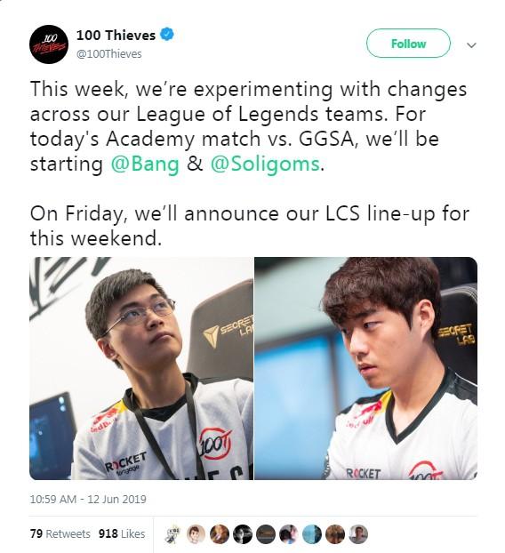 LMHT: Gánh team còng cả lưng, cựu sao SKT vẫn bị đội tuyển đáng ghét nhất LCS đẩy xuống đội dự bị - Ảnh 1.