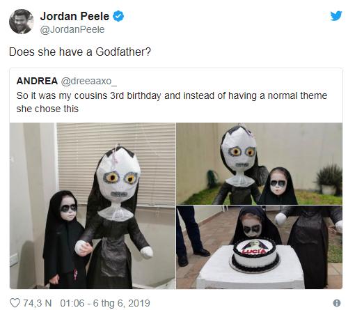 Cô bé 3 tuổi tổ chức sinh nhật theo phong cách ác quỷ Valak khiến dân mạng một phen trầm trồ - Ảnh 6.