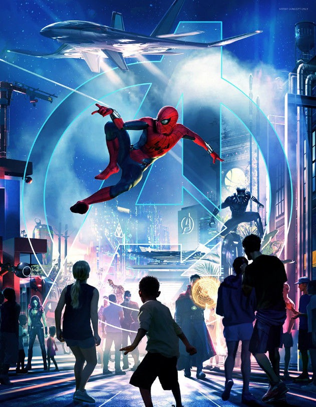 Disney chuẩn bị cho ra mắt công viên theo chủ đề vũ trụ Marvel - Ảnh 2.