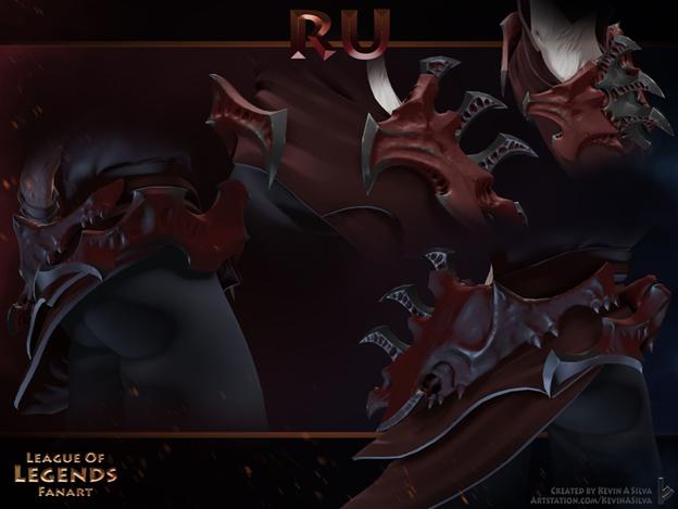 LMHT: Đợi mãi chẳng thấy Riot ra mắt tướng Darkin mới, fan tự tay thiết kế Ác quỷ Yordle siêu ngầu - Ảnh 13.