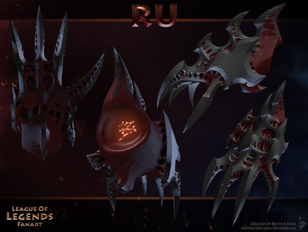 LMHT: Đợi mãi chẳng thấy Riot ra mắt tướng Darkin mới, fan tự tay thiết kế Ác quỷ Yordle siêu ngầu - Ảnh 10.