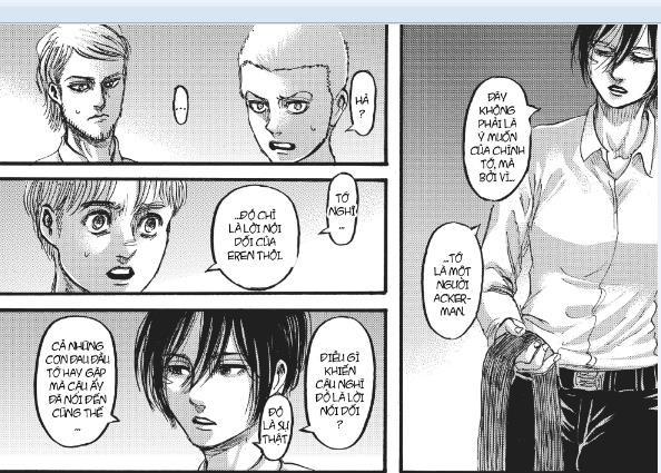 Attack on Titan: Mikasa và chiếc khăn quàng – Dây xích trói buộc số phận hay sợi tơ hồng định mệnh - Ảnh 9.