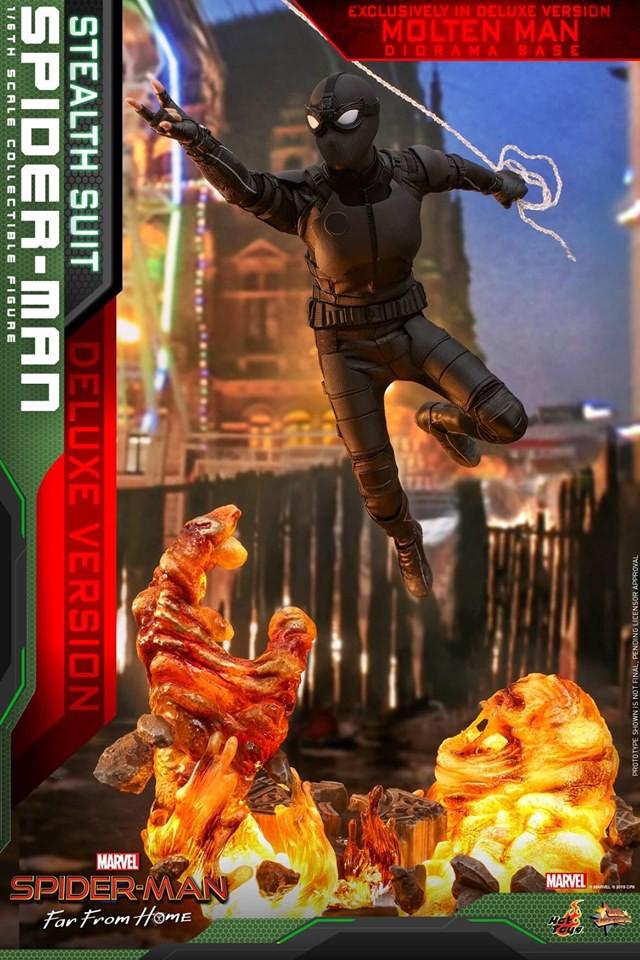 Cận cảnh bộ giáp đen siêu ngầu của Nhện Nhọ trong Spider-Man: Far From Home - Ảnh 6.