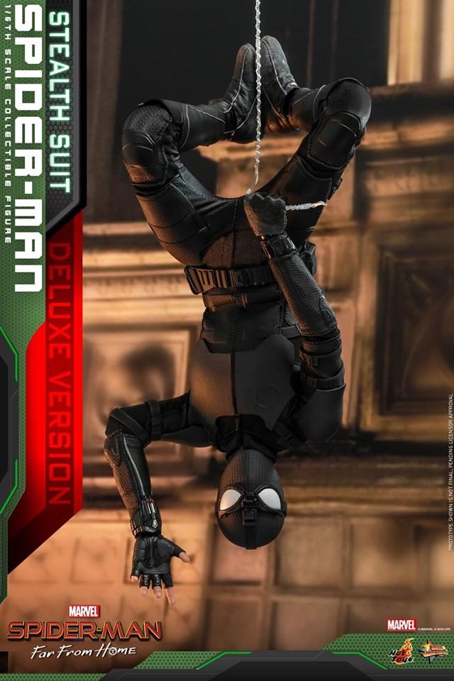 Cận cảnh bộ giáp đen siêu ngầu của Nhện Nhọ trong Spider-Man: Far From Home - Ảnh 10.