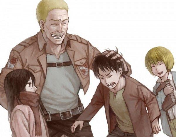 Attack on Titan: Chân dung Hannes – người lính dũng cảm đã cứu mạng Mikasa, Eren và Armin - Ảnh 3.