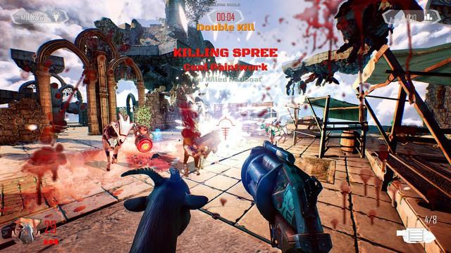 Hiện tại game thủ đã có thể biến dê để bắn nhau trong Goat of Duty mới mở thử nghiệm - Ảnh 3.
