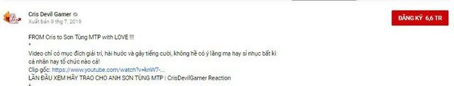 Nhận xét khiếm nhã về mẫu nữ trong MV Hãy Trao Cho Anh, Cris Devil Gamer bị cộng đồng chỉ trích thậm tệ - Ảnh 3.