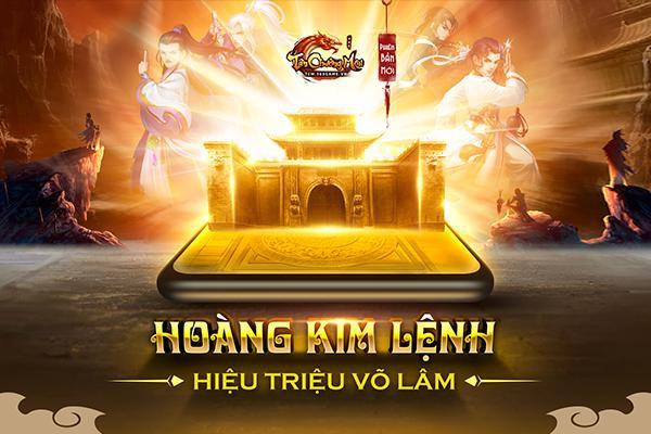 Tân Chưởng Môn VNG: Big update Hoàng Kim Lệnh chính thức ra mắt vào ngày mai 16/7 - Ảnh 1.