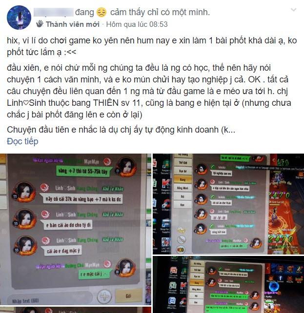 """Nữ game thủ bị """"chị em cây khế"""" BÁN LINK FACEBOOK lấy tiền, liên tục bị nhắn tin quấy rối, mất cả iPhone XS - Ảnh 1."""