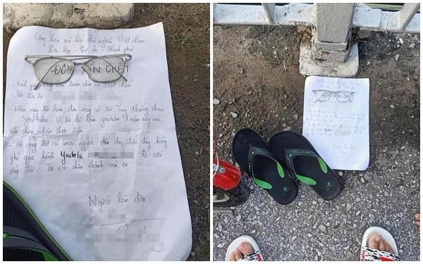 Giả vờ tự tử và viết Đơn Xin Chết để câu subs, Youtuber Việt nhận mưa gạch đá từ cộng đồng mạng - Ảnh 2.