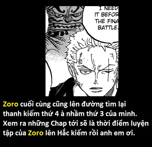 One Piece 950: Zoro sắp có được sức mạnh mới, Law mỉm cười đầy tự tin dù đã bị tống giam vào tù - Ảnh 15.