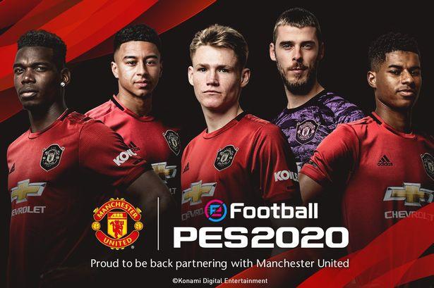 PES 2020 mua thành công bản quyền hình ảnh của Manchester United - Ảnh 1.