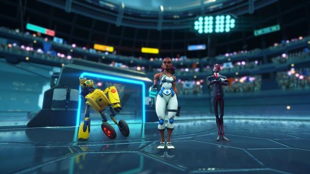 Tuyệt phẩm Steel Circus - Game bóng ném đánh nhau sắp mở cửa hoàn toàn miễn phí - Ảnh 2.