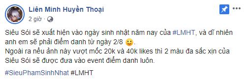 LMHT: Game thủ Việt được tặng miễn phí trang phục Siêu Phẩm Warwick mừng sinh nhật LMHT - Ảnh 3.
