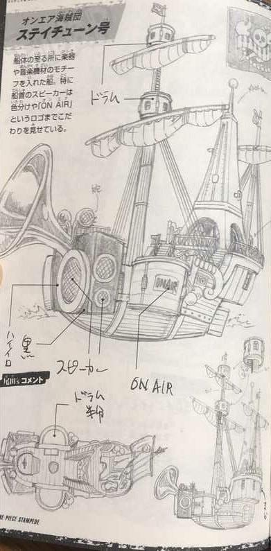 One Piece: Hé lộ thiết kế tàu của hải tặc Kid và nhóm Siêu Tân Tinh - Ảnh 4.