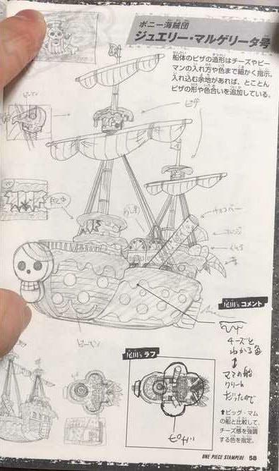 One Piece: Hé lộ thiết kế tàu của hải tặc Kid và nhóm Siêu Tân Tinh - Ảnh 6.