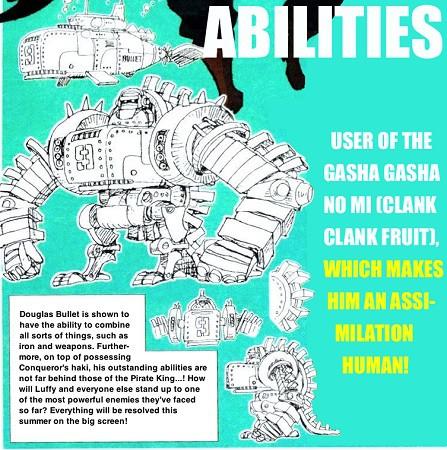 Hé lộ hình dáng và sức mạnh thật sự trái ác quỷ của Douglas Bullet trong One Piece: Stampede! - Ảnh 4.