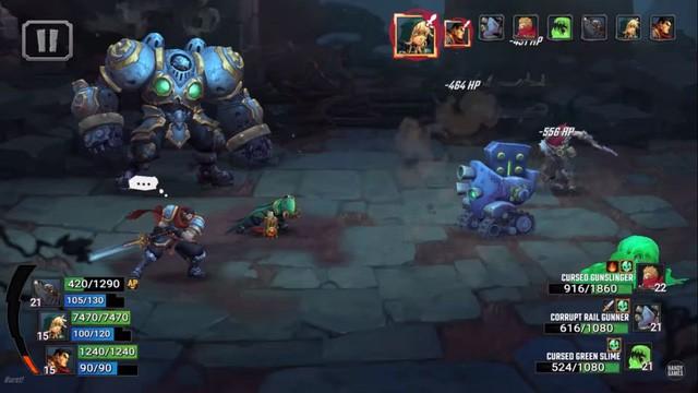 4 tựa game mobile nhập vai đánh theo lượt cực chất mới ra mắt thị trường - Ảnh 2.