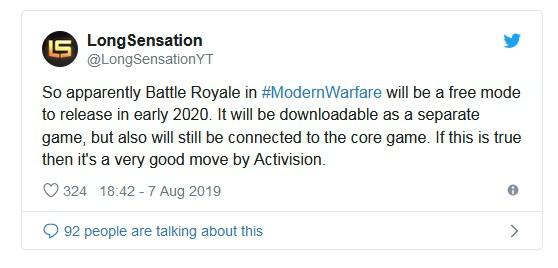 Call of Duty sẽ có game Battle Royale độc lập, lại còn hoàn toàn miễn phí - Ảnh 2.