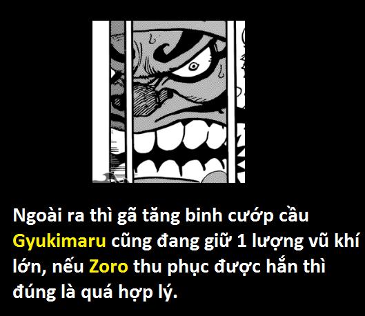 One Piece: Gyukimaru sẽ sớm bị Zoro thu phục... để cung cấp vũ khí cho quân phản loạn - Ảnh 11.
