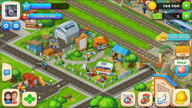 Trải nghiệm Township - Game xây dựng thành phố mới lạ - Ảnh 1.