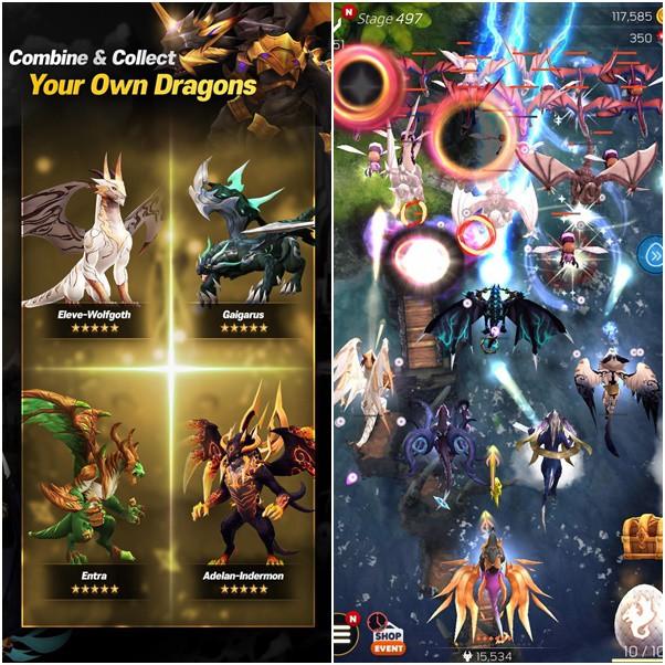 DragonSky: Idle & Merge - Game mobile idle RPG với bối cảnh đại chiến Rồng cực thú vị - Ảnh 2.