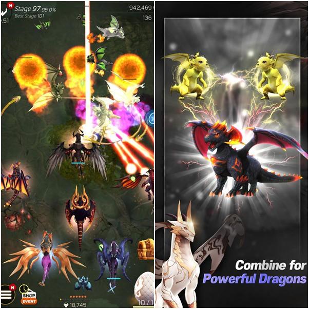 DragonSky: Idle & Merge - Game mobile idle RPG với bối cảnh đại chiến Rồng cực thú vị - Ảnh 1.