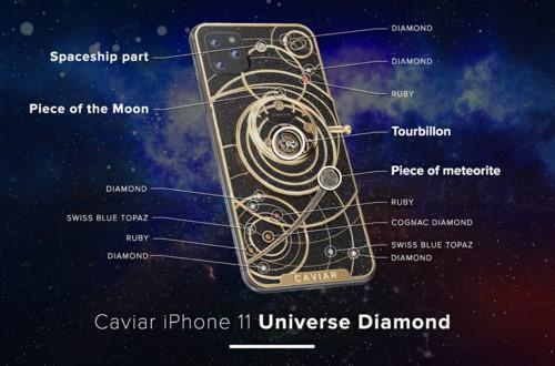 iPhone 11 chưa ra mắt đã có bản đặc biệt nạm thiên thạch và đá mặt trăng giá hơn 1 tỷ đồng - Ảnh 2.