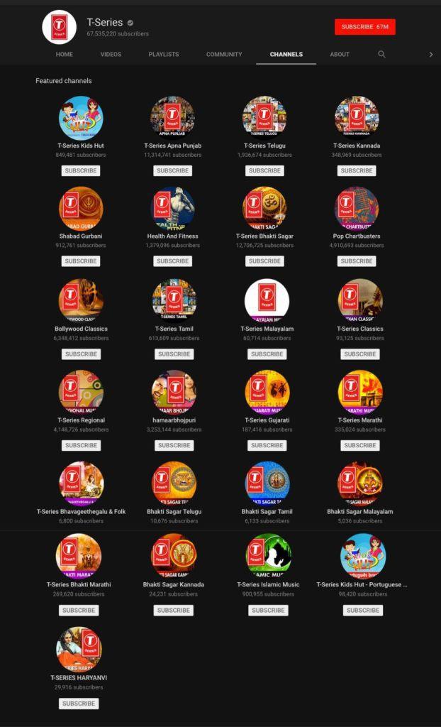 Là kênh Youtube của người Ấn, chỉ đăng video tiếng Hindi, T-Series làm gì để trở thành kênh có lượt đăng ký lớn nhất thế giới, vượt mặt ông hoàng Youtube PewDiePie? - Ảnh 4.