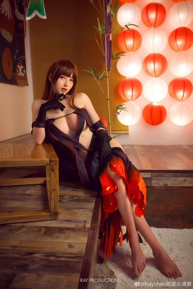 Xịt máu mũi khi ngắm nhìn nàng Ngu Cơ với tạo hình quá nóng bỏng trong Fate/Grand Order - Ảnh 6.