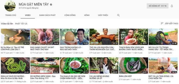 5 kênh du lịch - ẩm thực hot nhất miền Tây: Khoai Lang Thang sắp đạt nút vàng, một YouTuber trẻ tuổi khác đã làm được điều đó từ lâu - Ảnh 31.