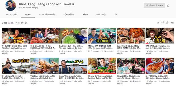 5 kênh du lịch - ẩm thực hot nhất miền Tây: Khoai Lang Thang sắp đạt nút vàng, một YouTuber trẻ tuổi khác đã làm được điều đó từ lâu - Ảnh 6.