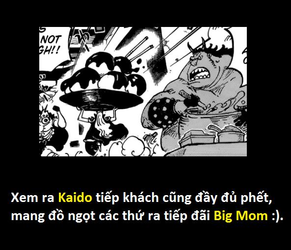One Piece 951: Dù được Kaido thiện chí tiếp đãi... Big Mom vẫn định câu dụ thành viên mạnh nhất của băng Bách Thú - Ảnh 16.