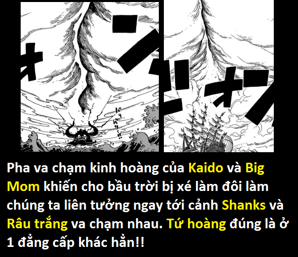 One Piece 951: Dù được Kaido thiện chí tiếp đãi... Big Mom vẫn định câu dụ thành viên mạnh nhất của băng Bách Thú - Ảnh 17.