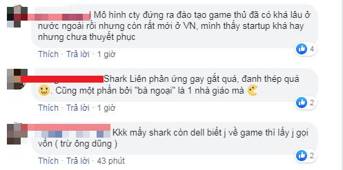 Gay gắt và dị ứng với game, Shark Liên khiến cộng đồng game thủ Việt tự ái - Ảnh 5.