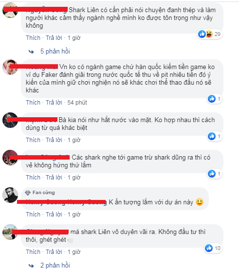 Gay gắt và dị ứng với game, Shark Liên khiến cộng đồng game thủ Việt tự ái - Ảnh 6.