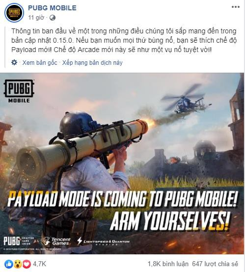 PUBG Mobile rục rịch ra mắt chế độ dùng Rocket bắn hạ cả trực thăng như phim hành động - Ảnh 2.