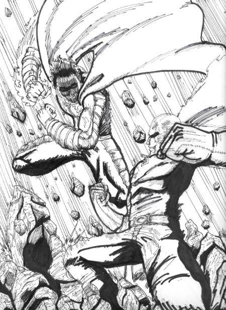 One Punch Man: Nếu Saitama là quái vật, mức độ thảm họa của anh ta sẽ tới mức độ nào? - Ảnh 8.