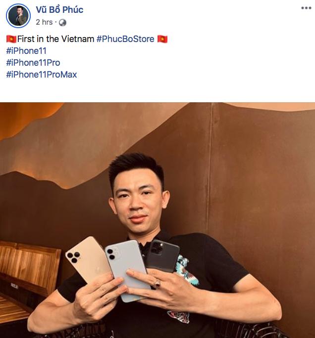 Đã có người Việt sở hữu iPhone 11 Pro dù Apple chưa bán - Ảnh 1.