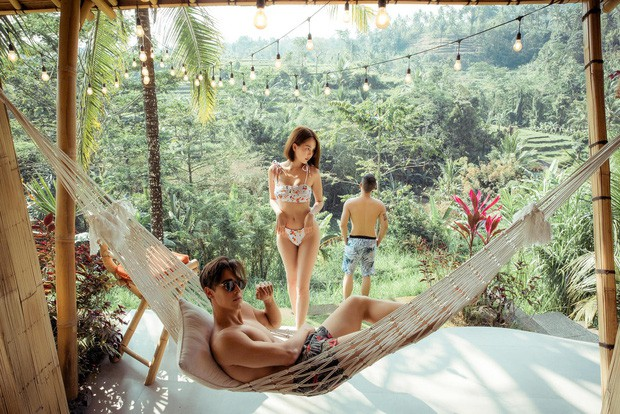 Ngọc Trinh lại gây sốc với khoảnh khắc diện bikini nhỏ xíu, che như không che vòng 1 tiếp nối seri đi du lịch ở Bali - Ảnh 7.