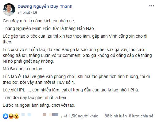 LMHT: HLV Tinikun lại gây bão khi bóng gió chỉ trích Hoàng Luân, gọi HLV Minh Hảo là hèn - Ảnh 5.