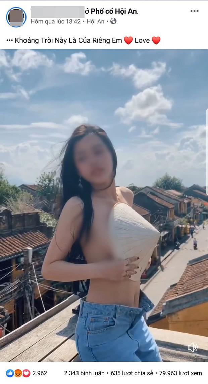 Lên tiếng xin lỗi, hot girl bán khỏa thân quay clip trên nóc quán cafe ở Hội An vẫn bị ném đá tới tấp - Ảnh 1.