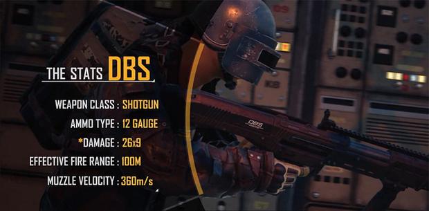 Sức mạnh khủng khiếp của DBS - Siêu vũ khí xịn nhất của PUBG nằm trong hòm thính - Ảnh 2.