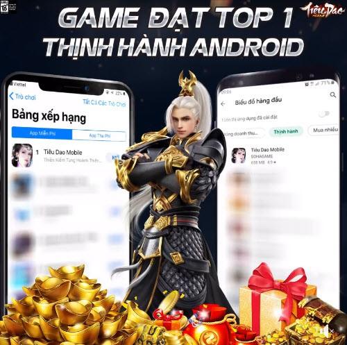 Đúng là không thể đùa với độ hung hãn của fan kiếm hiệp: Tiêu Dao Mobile chính thức chiếm Top 1 cả CH Play lẫn App Store - Ảnh 1.
