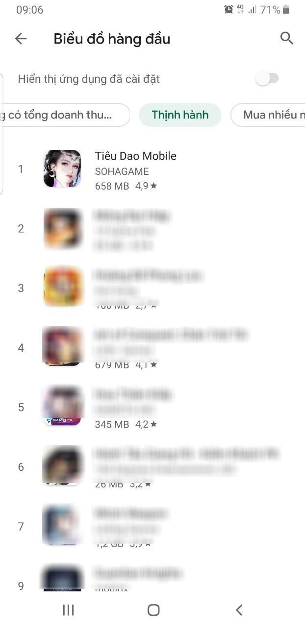 Đúng là không thể đùa với độ hung hãn của fan kiếm hiệp: Tiêu Dao Mobile chính thức chiếm Top 1 cả CH Play lẫn App Store - Ảnh 2.