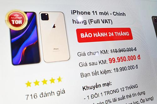 Để là người đầu tiên sở hữu iPhone 11 ở Việt Nam, anh em sẽ phải chi khoảng 100 triệu đồng - Ảnh 1.