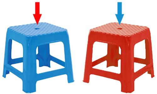 Có thể bạn chưa biết: Lỗ tròn trên mặt ghế nhựa có tác dụng gì? - Ảnh 1.