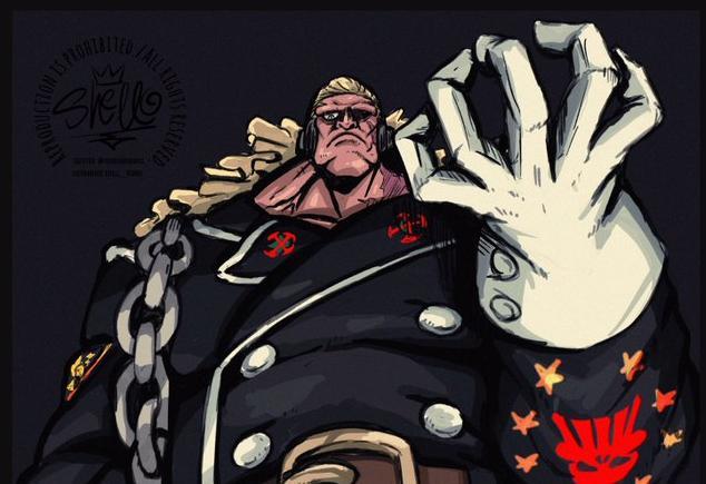 One Piece Stampede: Douglas Bullet - kẻ mang trong mình sức mạnh khiến cả thế giới phải hoảng sợ - Ảnh 2.
