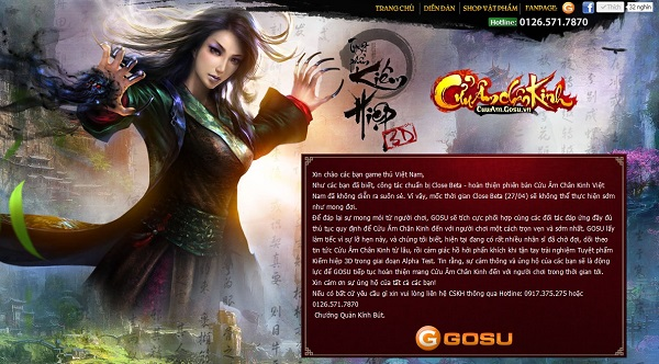 Game thủ Việt rục rịch chuyển sang Cửu Âm Chân Kinh bản tiếng Anh 1